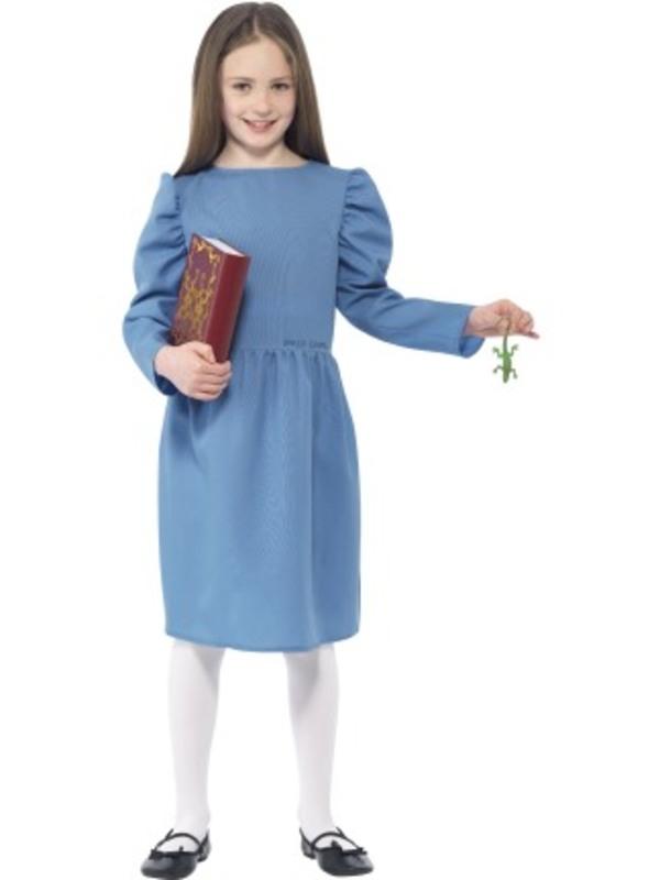 Roald Dahl Matilda Costume, Blue