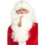Santa Dress Up Kit, White