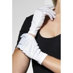 Short Gloves, White