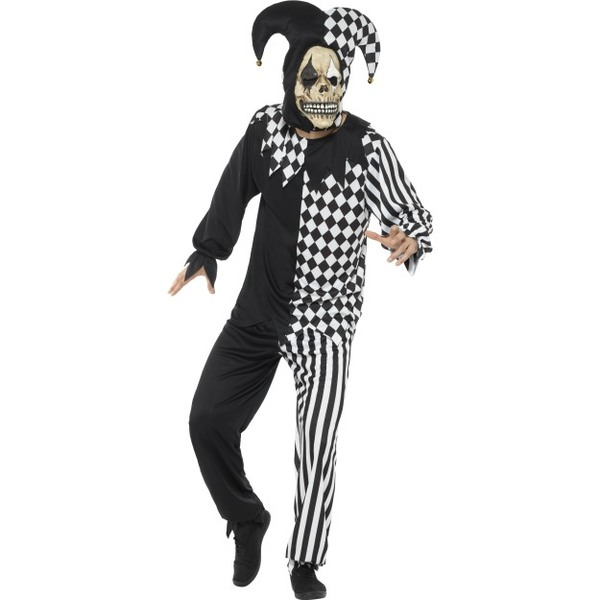 Evil Court Jester Costume  sc 1 st  Tickles World & Menu0027s Halloween Costumes | Tickles World