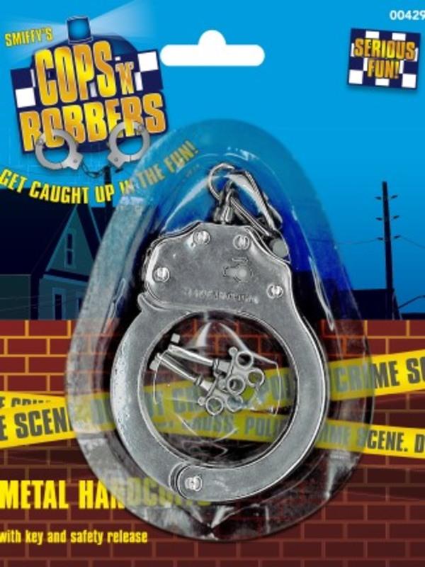 Metal Handcuffs, Silver